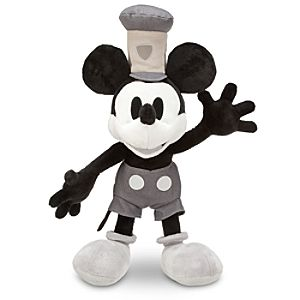 Steamboat Willie Mickey Mouse Plush - 17