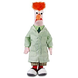 Muppets Beaker Plush Toy -- 17 H