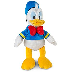 Small Donald Duck Plush -- 14 H