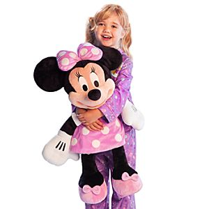 Large Minnie Mouse Plush Toy -- 27 H