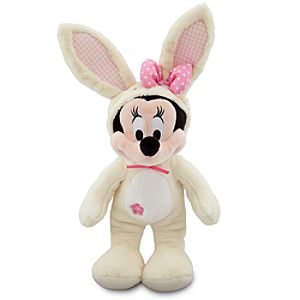 Scented Easter Bunny Minnie Mouse Plush -- 14