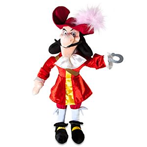 Peter Pan: Captain Hook Plush -- 20 H