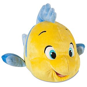 The Little Mermaid: Flounder Plush -- 10 L