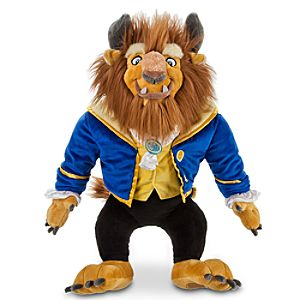 Beauty and the Beast: Beast Plush -- 17 H
