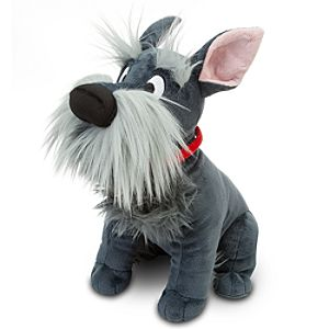 Lady and the Tramp Jock Plush -- 12 H