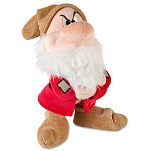 Snow White and the Seven Dwarfs: Grumpy Plush -- 11 H