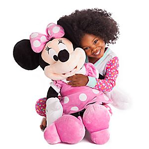 Minnie Mouse Plush - Pink - Large - 27