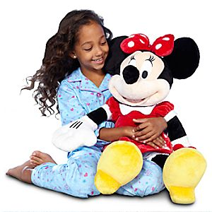 Minnie Mouse Plush - Red - Large - 27