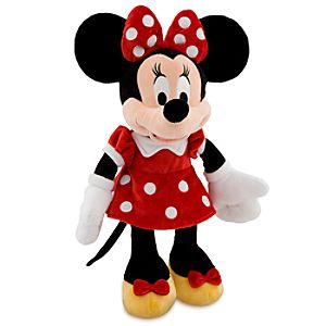 Minnie Mouse Plush - Red - Medium - 19