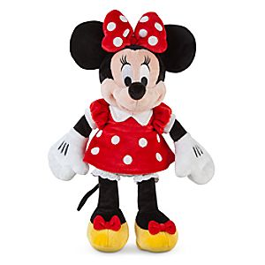 Minnie Mouse Plush - Red - Small - 12