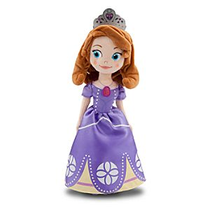 Sofia the First Plush Doll - Small - 13