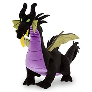 Maleficent as Dragon Plush - Medium - 11 - Sleeping Beauty