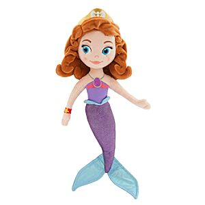 Sofia as Mermaid Plush Doll - Small - 15