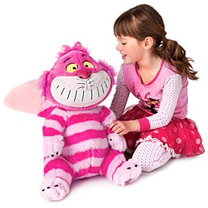 Large Cheshire Cat Plush Toy -- 20 H
