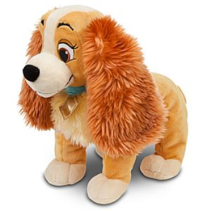 Lady and the Tramp - Lady Plush -- 14 L