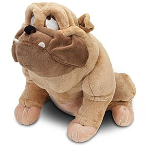 Lady and the Tramp Bull Plush -- 12 H