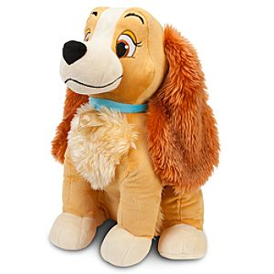 Lady and the Tramp - Large Lady Plush -- 18 H