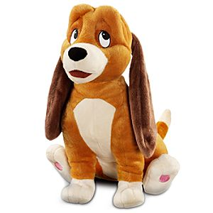 The Fox and the Hound Copper Plush Toy -- 13 H