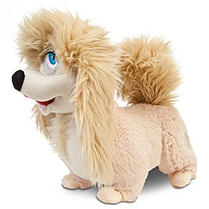 Lady and the Tramp Peg Plush -- 11 L