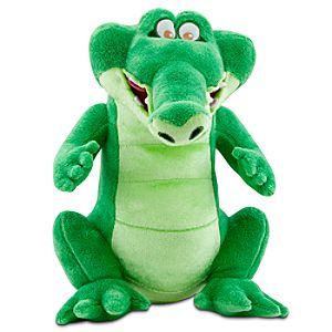 Peter Pan Tick-Tock the Crocodile Plush -- 12 H