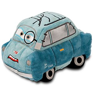 Cars 2 Professor Z Plush Toy -- 8 L