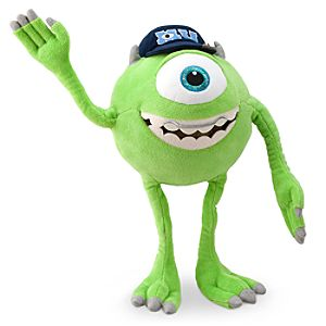 Mike Wazowski Plush - Monsters University - Small - 12