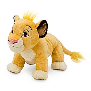 Simba Plush - The Lion King - Medium - 11
