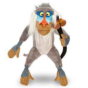 The Lion King Rafiki Plush Toy -- 11 H