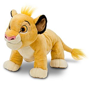 The Lion King Simba Plush Toy -- 11 H