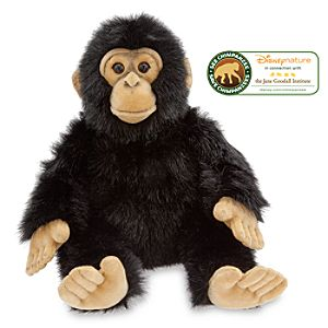 DisneyNature Chimpanzee Oscar Plush -- 13 H