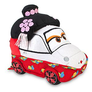 Cars 2 Okuni Kabuki Dancer Plush Toy -- 7 L