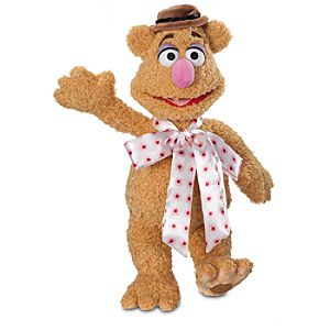 Fozzie Bear Plush - The Muppets - Medium - 15