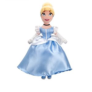 Mini Cinderella Plush Doll -- 12 H