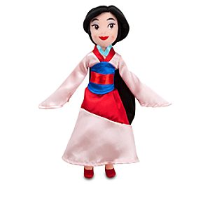 Mini Mulan Plush Doll -- 11 H
