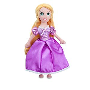 Mini Rapunzel Plush Doll -- 11 H