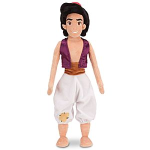 Plush Aladdin Doll -- 21 H