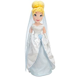 Plush Wedding Cinderella Doll -- 21 H