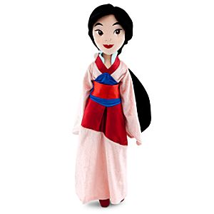 Plush Mulan Doll -- 20 H