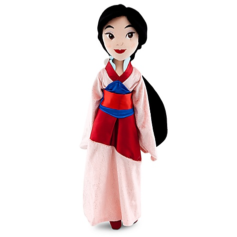 Mulan Plush Doll -- 20'' H
