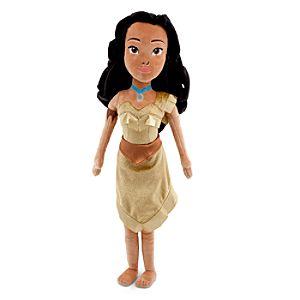 Plush Pocahontas Doll -- 19 H