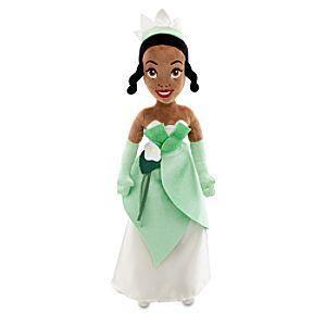 Plush Tiana Doll -- 21 H