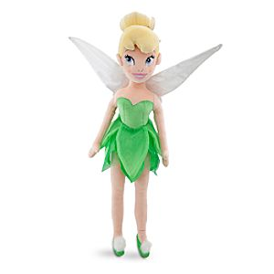 Plush Tinker Bell Doll -- 21 1/2 H