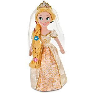 Plush Bride Rapunzel Doll -- 20 H