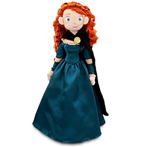 "Soft Merida Plush Doll - 20"" H"