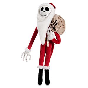 Santa Jack Skellington Plush Toy -- 22 H