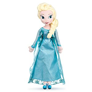 Elsa Plush Doll - Frozen - Medium - 20