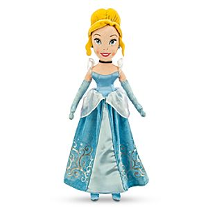 Cinderella Plush Doll - Medium - 21