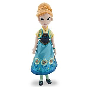 Anna Plush Doll - Frozen Fever - Medium - 20