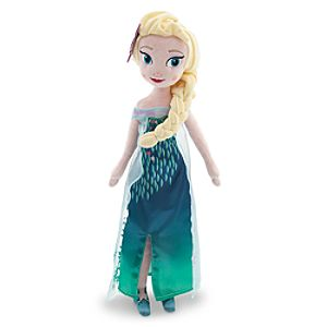 Elsa Plush Doll - Frozen Fever - Medium - 20
