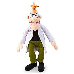 Dr. Doofenshmirtz Mini Bean Bag Plush - 10 1/2